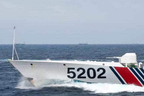 Kapal Coast Guard China membayangi KRI Usman Harun-359 saat melaksanakan patroli di ZEE Indonesia Utara Pulau Natuna 4