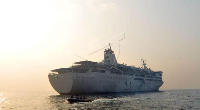 KRI Tanjung Nusanive – 973 Akhiri Masa Tugas
