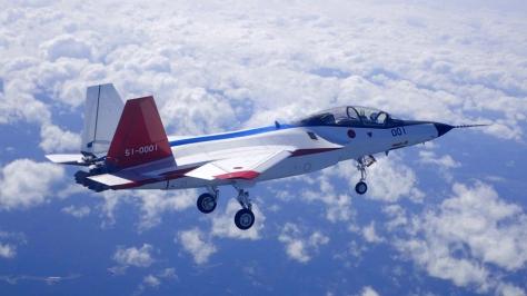 Mitsubishi X-2 Shinshin First Flight (Wiki)