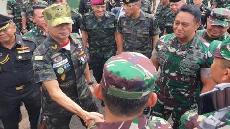 Panglima Angkatan Darat Kerajaan Thailand General Apirat Kongsompong (Tribunnews)