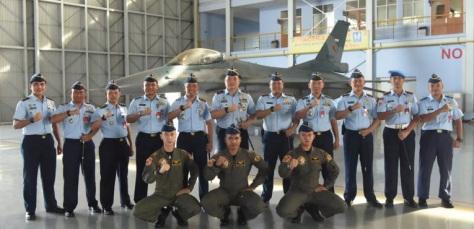 Pendidikan Transisi Penerbang F-16 Fighting Falcon Resmi Dibuka