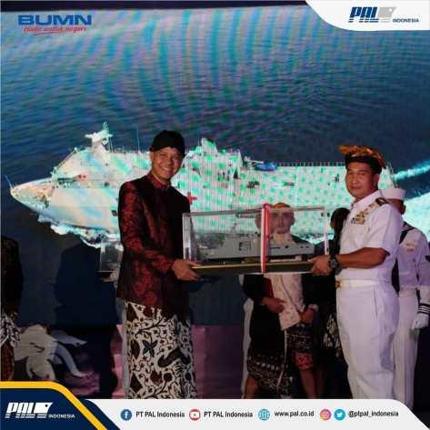 Pengukuhan Nama KRI Semarang-594