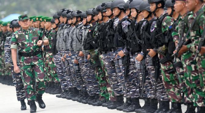TNI Siagakan 600 Personel Amankan Perairan Natuna