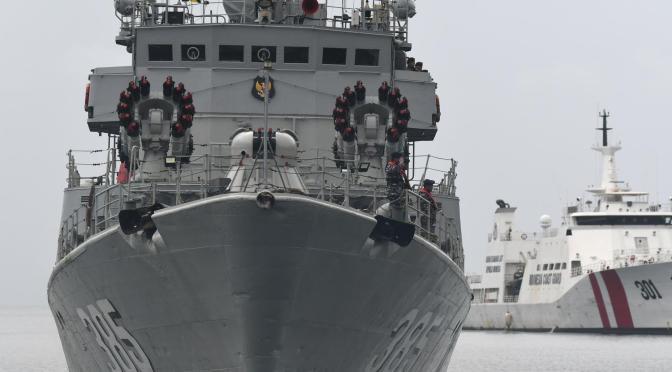 TNI Terjunkan Delapan KRI untuk Amankan Perairan Natuna