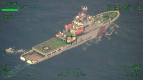 Kapal Coast Guard Cina Melintas di ZEE Indonesia Tanpa Nyalakan Transponder 1