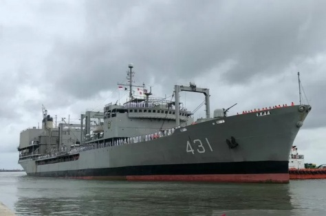 Kapal Kharg milik Republik Islam Iran mengunjungi Indonesia (Antara)