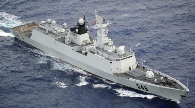 Frigate Type 054A, Kapal Perang Cina yang Memasuki ZEE Indonesia