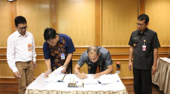 Kemhan dan PT. Dirgantara Indonesi Menandatangani Kontrak Reverse Engineering System Rudal