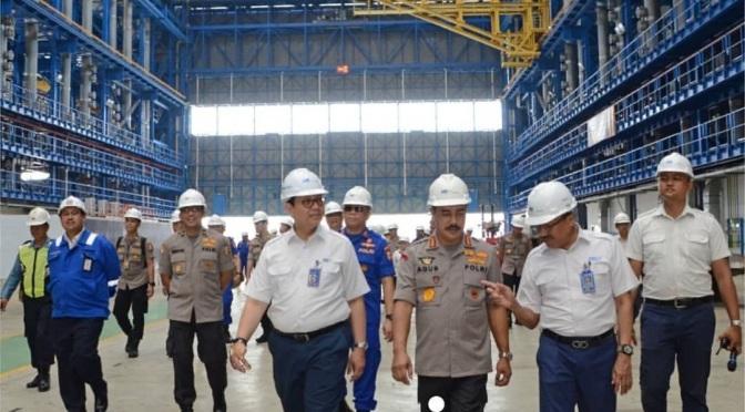POLRI Siap Memesan Kapal Support Dari PT PAL Indonesia