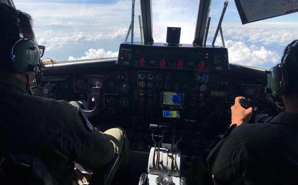 Patroli Udara Pengamanan Batas Wilayah Indonesia dengan Malaysia