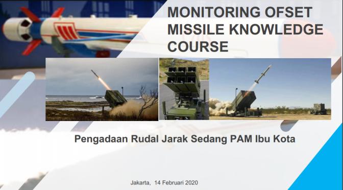 Monitoring dan Evaluasi ToT Rudal Nassam
