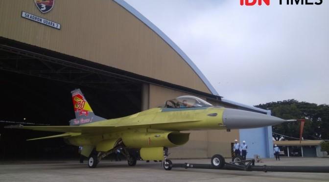 Upgrade Seluruh F-16 TNI AU Ditargetkan Rampung pada 2024