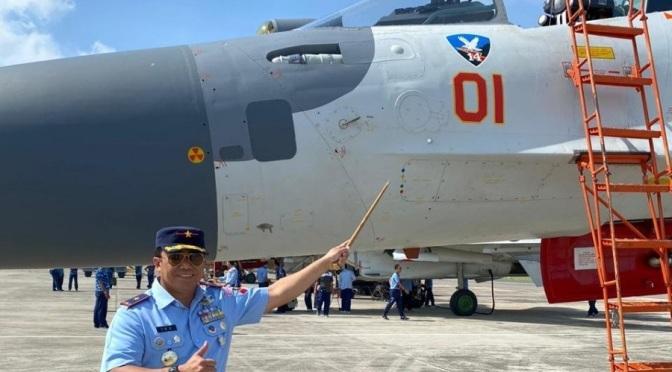 Tiga Jet Tempur Sukhoi Akan Dioperasionalkan di Skadron Udara 14