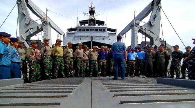 Gabungan Pasukan Elit TNI AL Berpartisipasi di Garuda Di Lautku