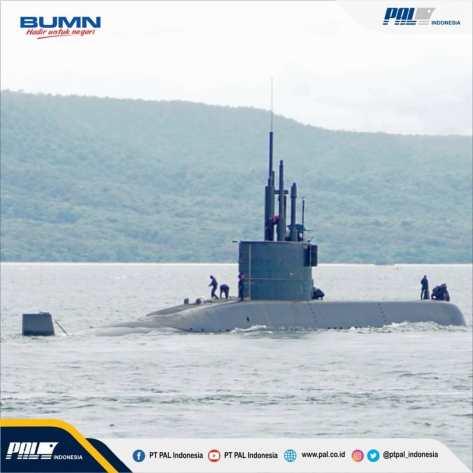 Kapal selam karya anak bangsa Alugoro telah berhasil menjalani tahapan uji Tactical Diving Depth (TDD) hingga kedalaman 310,8 meter 2
