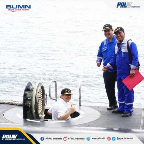 Kapal selam karya anak bangsa Alugoro telah berhasil menjalani tahapan uji Tactical Diving Depth (TDD) hingga kedalaman 310,8 meter