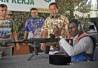 Menteri Bappenas Senegal Kunjungi PT Pindad