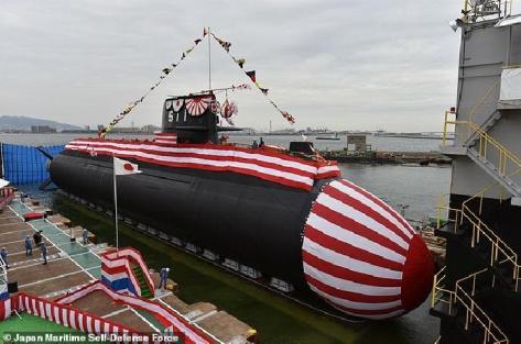 Ouryu, Kapal Selam Jepang Pertama Yang Menggunakan Baterai Lithium-ion (Japan Maritime Self-Defense Force)