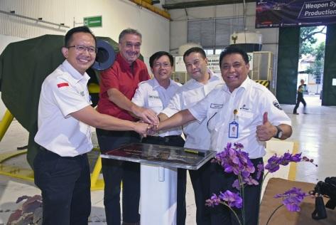 PT Pindad (Persero) meresmikan Lini Baru Fasilitas Produksi Sistem Senjata 3