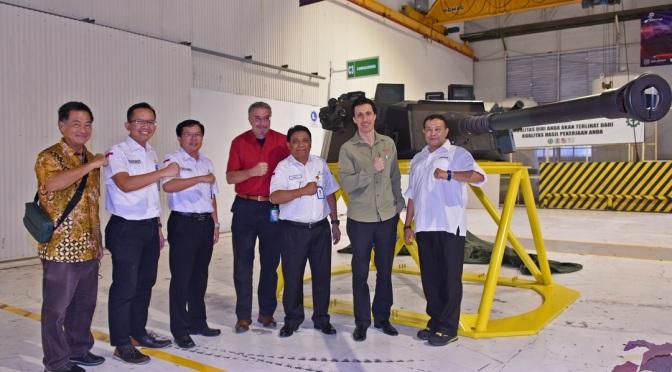 PT Pindad Resmikan Lini Baru Fasilitas Produksi Sistem Senjata