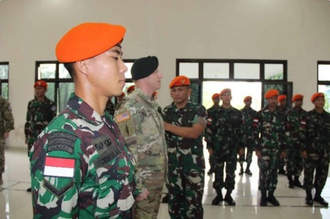 Satbravo 90 Paskhas dan US SOCPAC Amerika Serikat Gelar Latihan Bersama di Medan