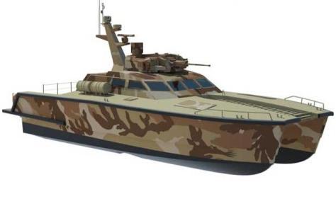 Tank Boat dengan canon kaliber 30 mm (Pindad)