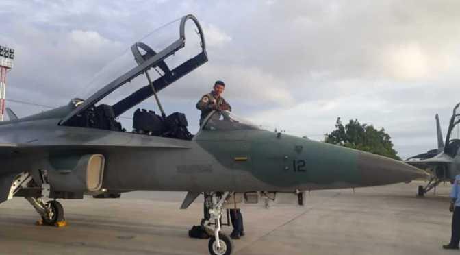 Ikuti Kilat Cakra D. 20, T-50i Golden Eagle Tiba di Lanud Manuhua