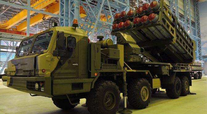 """""""Benteng Terakhir"""" Pertahanan Misil Rusia Mulai Diproduksi"""